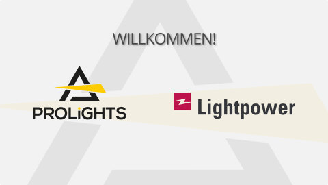Lightpower takes over PROLIGHTS brand distribution in Germany and Austria
