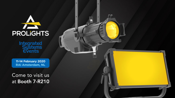 PROLIGHTS @ISE 2020, Amsterdam February 11-14