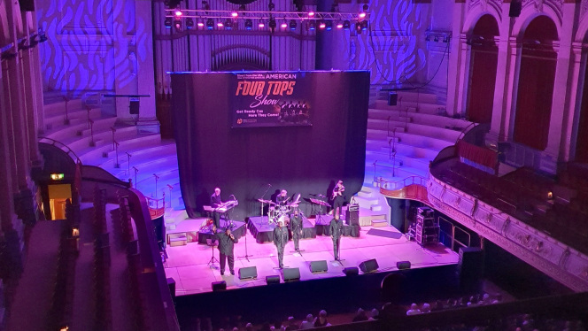 Huddersfield Town Hall green: lights upgrade to energy, efficient PROLIGHTS LED rig