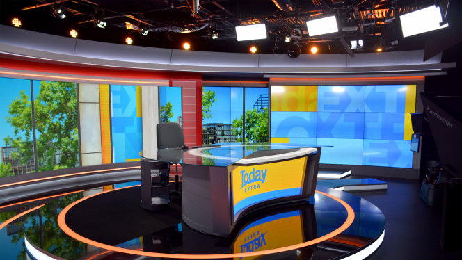 Channel 9 Sydney choose a complete Prolights studio package