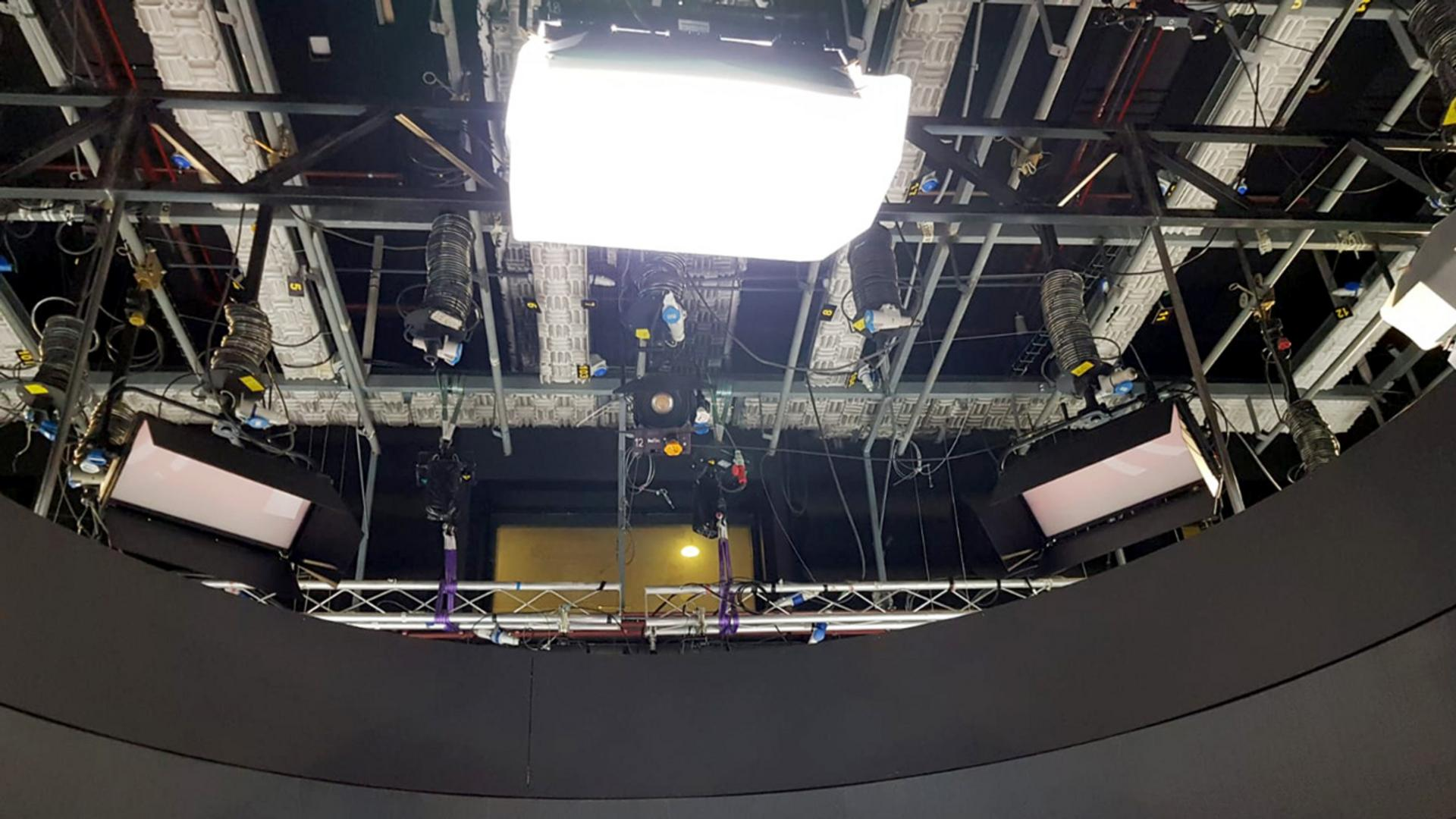Telemadrid adds PROLIGHTS EclPanel TWC to their TV Studios